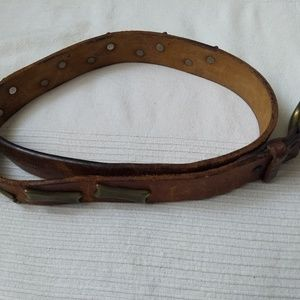 Original italian leather belt